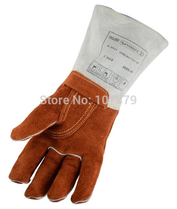 37.90$  Watch here - http://alil14.shopchina.info/go.php?t=1698071456 - 250 degree Celsius Heat resistant Leather Work Gloves Welding Safety Glove Welder Gloves Split Cow Leather Welding Gloves 37.90$ #shopstyle