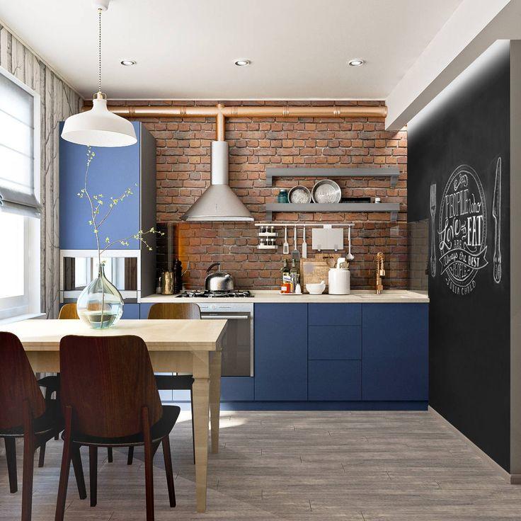 Кухня : Кухня в скандинавском стиле от PlatFORM