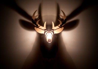 For my boys: Hunting Home Decor  #owldeerfox #deer