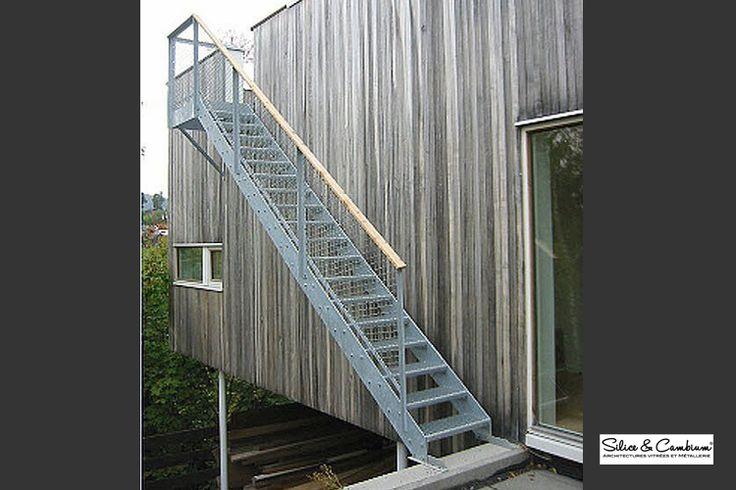 les 8 meilleures images du tableau escalier ext rieur sur pinterest votre maison escalier. Black Bedroom Furniture Sets. Home Design Ideas