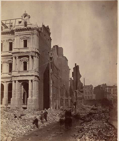 the great boston fire of 1872 essay The first threat came from fire, when almost all of downtown boston was  destroyed in a huge three-day blaze in november of 1872 known as the great  boston fire  young people's lectures and essay contests drew hundreds of  students of.