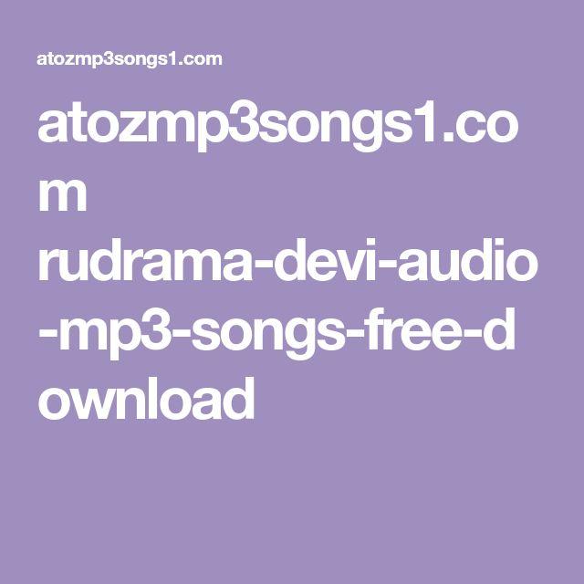 atozmp3songs1.com rudrama-devi-audio-mp3-songs-free-download
