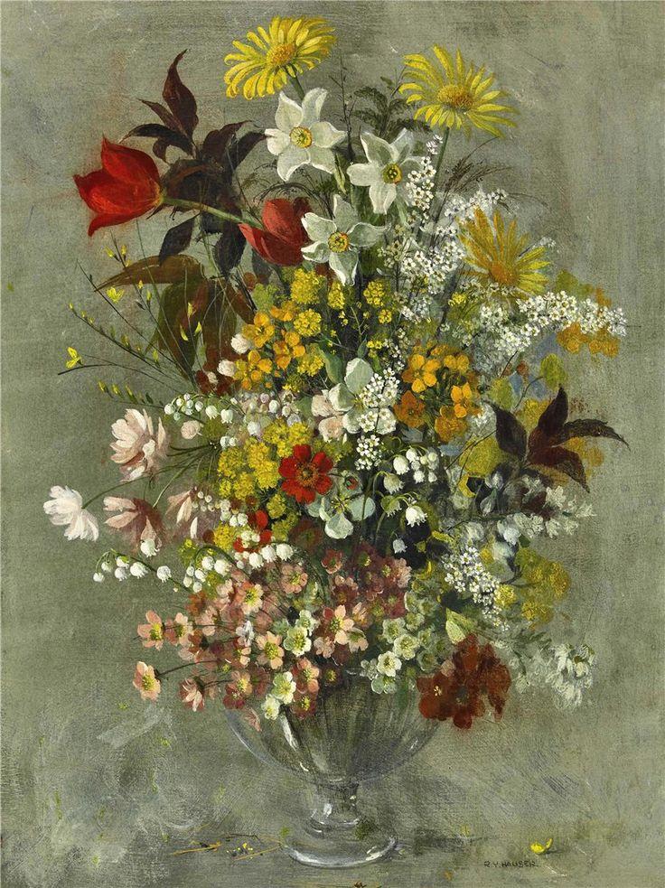 (+6) Renee Yolanda Hauser (1919-2008). Чудесные натюрморты