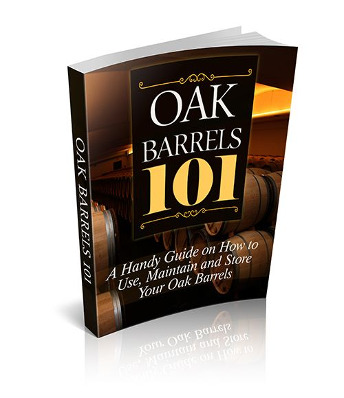 Download our free eBook - Oak Barrels 101. A Handy Guide on How to Use, Maintain and Store Your Oak Barrels www.barbarrels.com.au