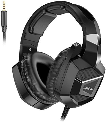 in the picture:Jeecoo J20 Gaming Headset for PS4 New Xbox One, Stereo Over-ear Headphones with Mic for PC Computer Mac Laptop Nintendo Switch Games lots of color options – get more info:https://www.amazon.com/dp/B076GZRS2T    Whenever it comes to best and inexpensive product, you definitely o...