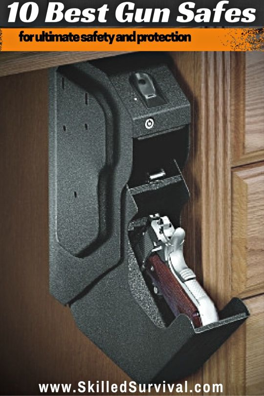10 Best Gun Safes For Ultimate Access Safety and Protection #prepper #survival