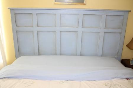 Board & Batten Inspired Headboard | Do It Yourself Home Projects from Ana White