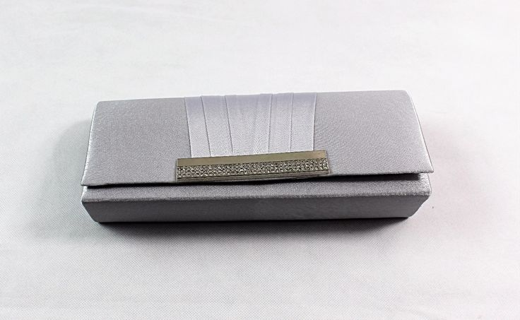 Silver Party Purse evening clutch bag