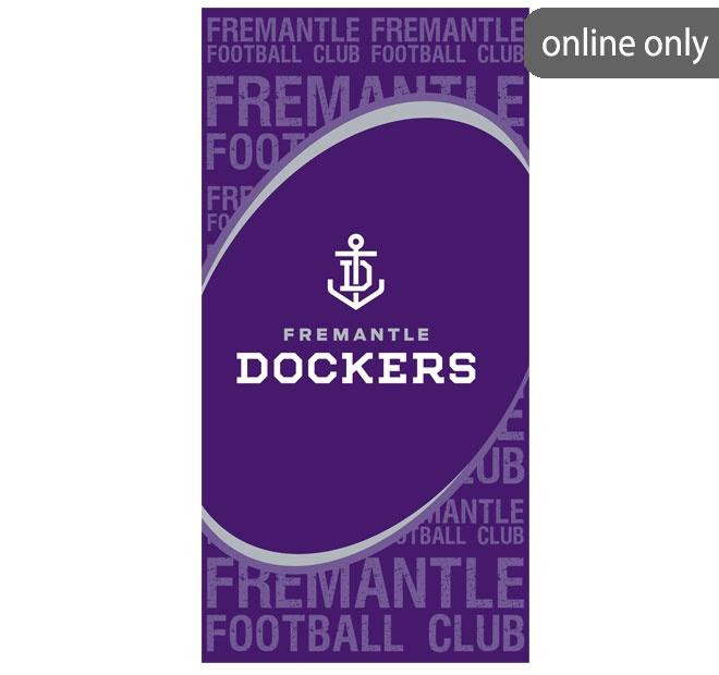 afl-team-logo-beach-towel-fremantle-dockers