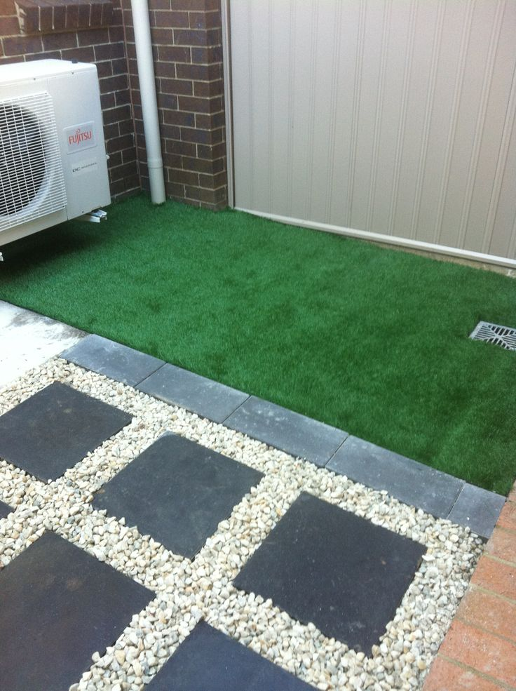 8 best images about courtyard landscaping on pinterest for Paving ideas for small courtyards