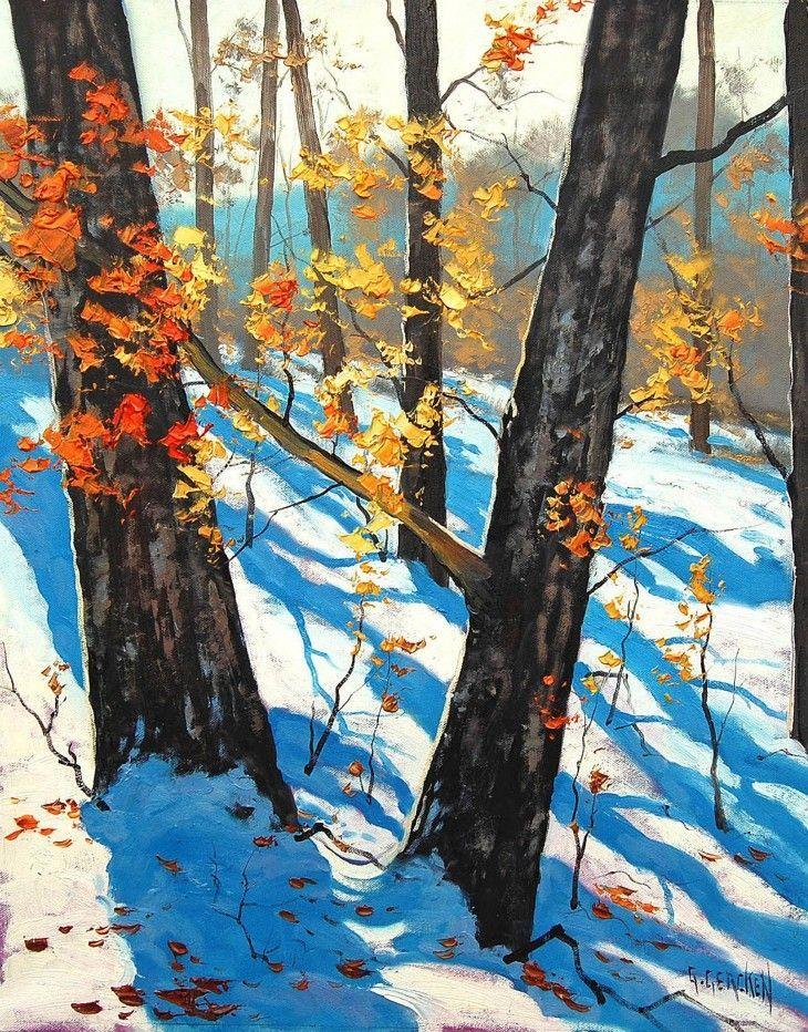 Landscape paintings by Graham Gercken - Graham Gercken – Award winning Australian Landscape artist.