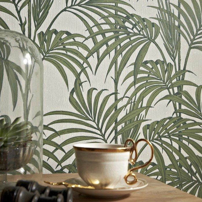 Honolulu Palm Green | Graham and Brown
