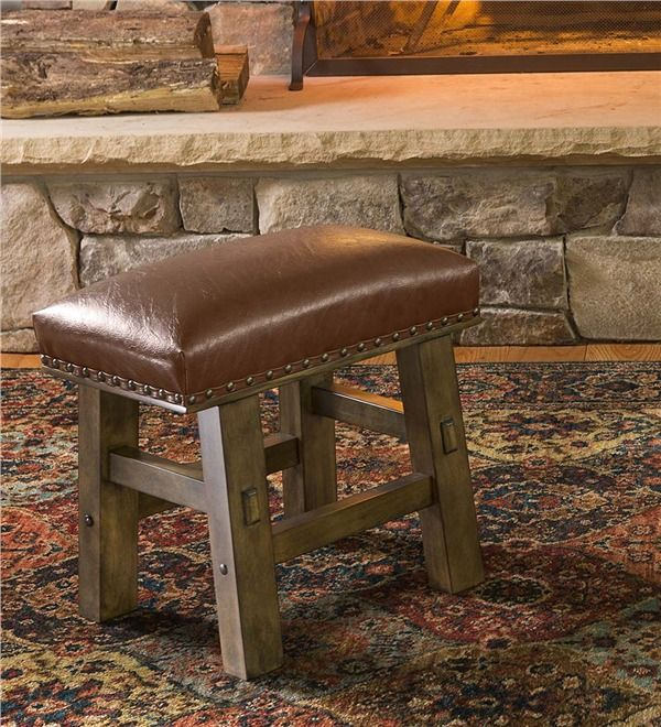 Main image for Canyon Leather Footstool