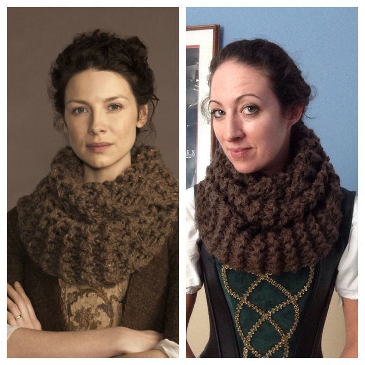 Knitting Pattern Outlander Cowl : The Outlander Evangelist knits again! The ojays, Photos and Cowls