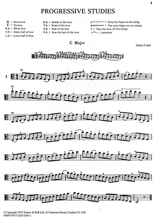 Nice little study for learning Alto cleff