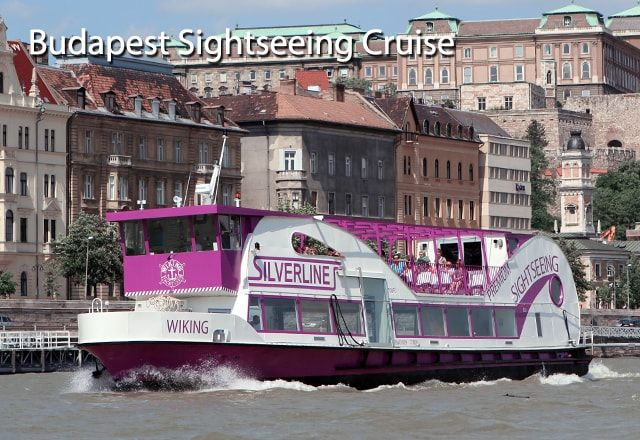 Budapest River Cruise  http://www.silver-line.hu/