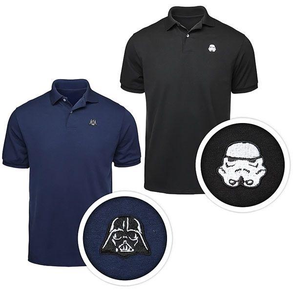 Star Wars Helmet Polo Shirts..bday idea