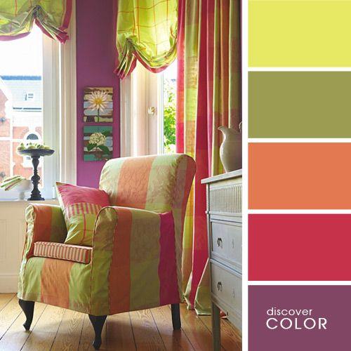 Фиолетовые стены | DiscoverColor.ru