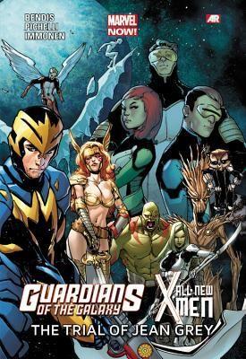 Guardians of the Galaxy/All-New X-Men: The Trial of Jean Grey (All-New X-Men #4.5) by Brian Michael Bendis, Sara Pichelli, Stuart Immonen, David Marquez.