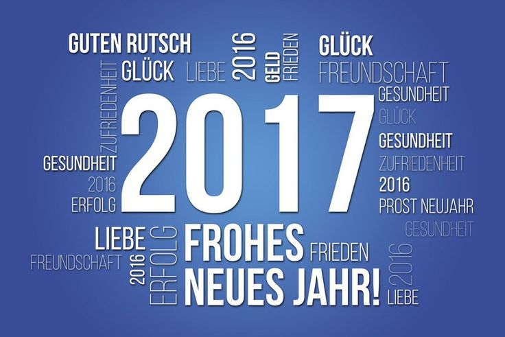 Danke für 2016! | Herzlich willkommen 2017!