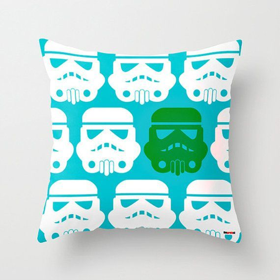 Really loving this Stormtrooper pillow by thegretest on Etsy, too!