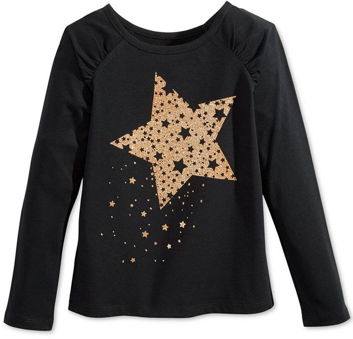 Epic Threads Mix and Match Star Graphic-Print T-Shirt, Toddler Girls (2T-5T) & Little Girls (2-6X), Only at Macy's