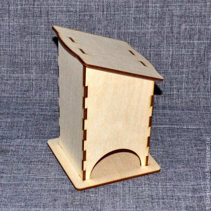 Купить ЧД-10-001. Чайный домик без окон. Заготовка для декупажа и росписи