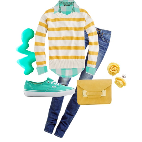 Yellow && Teal