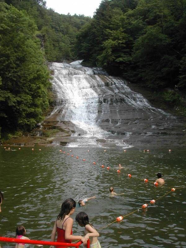 Best places to swim: Buttermilk Falls, Ithaca