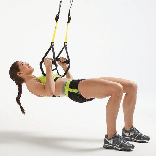 TRX Workout Plan: 7 Suspension Training Exercises to Tone Your Whole Body | Shape Magazine