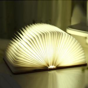 Perfect lampe de chevet Creative Lampe de lecture pliante LED USB rechargeable d coratif quatre couleurs lumi re