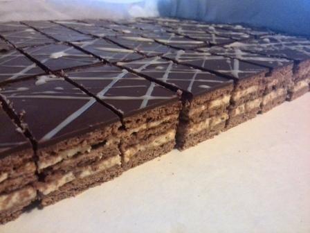 Kakaové medové rezy, recepty, Zákusky   Tortyodmamy.sk