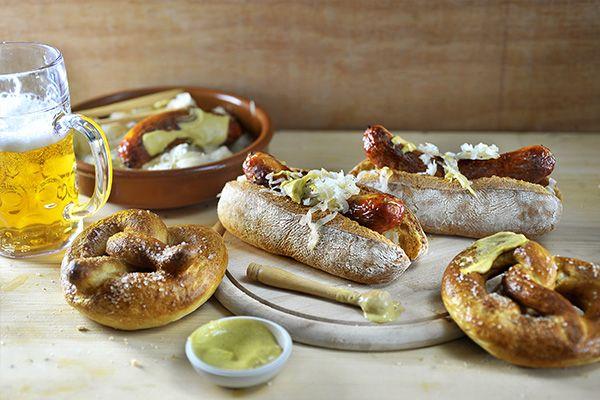 Philips Chef - Oktoberfest met pretzels en bratwurst