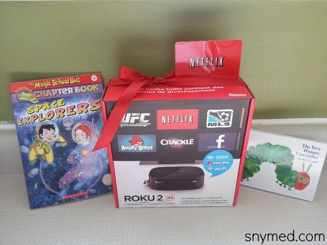 WIN 1-year FREE Netflix Subscription, Roku 2 Streaming Player & Scholastic Books from the SnyMed.com blog!