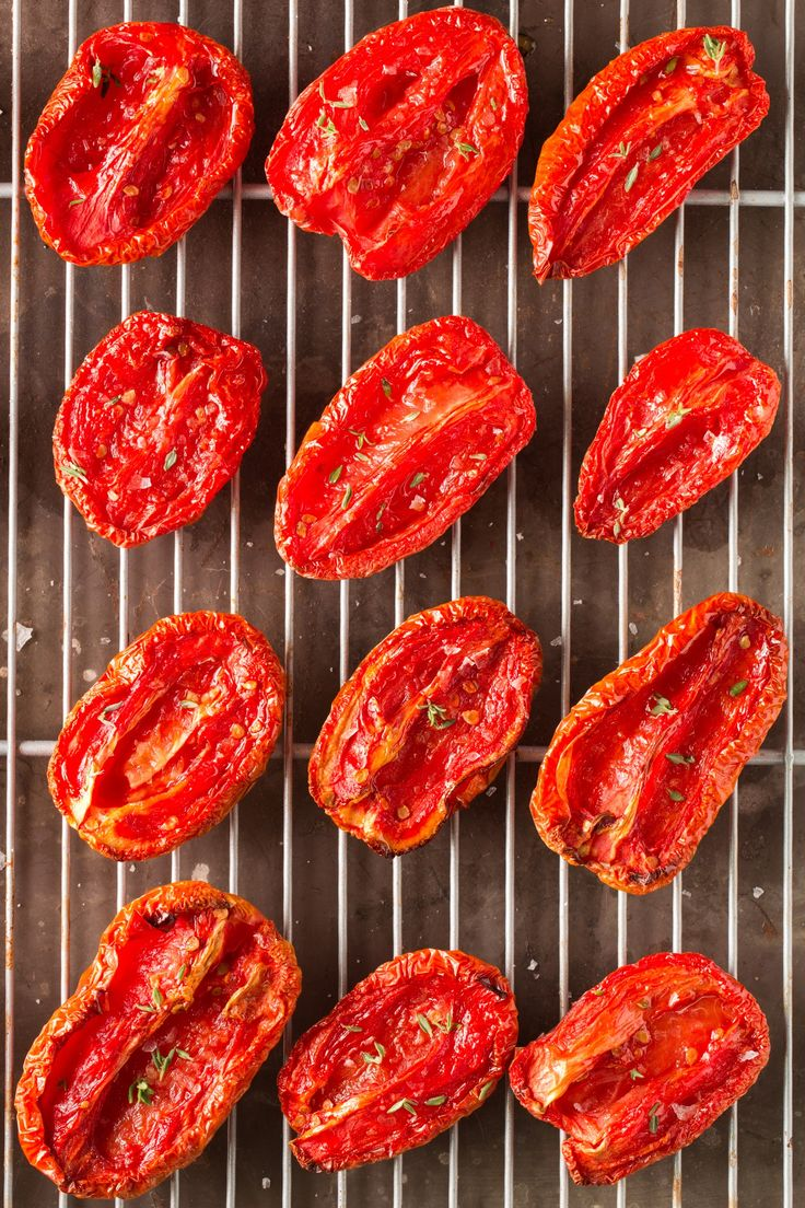 These oven-dried tomatoes are nothing like their sun-dried cousins. They aren't the ultra-dry, chewy tomatoes you find jarred at the supermarket. No, these oven-dried tomatoes are luscious, tender, and — forgive me for saying this — completely obsession-worthy. Trust me, I've eaten through two batches already this summer. Beyond being a no-fail method for preserving a bumper crop of plum or Roma tomatoes, oven-dried tomatoes stored in olive oil make a lovely hostess gift and are equally at…