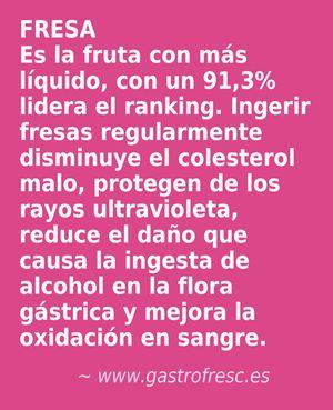 Beneficios de la fresa #alimentación #salud http://www.gastrofresc.es/project-view/fresa/