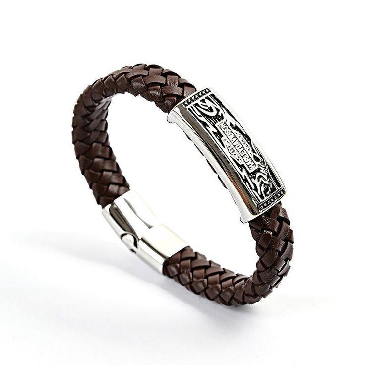 Harley Davidson's Leather Bracelet