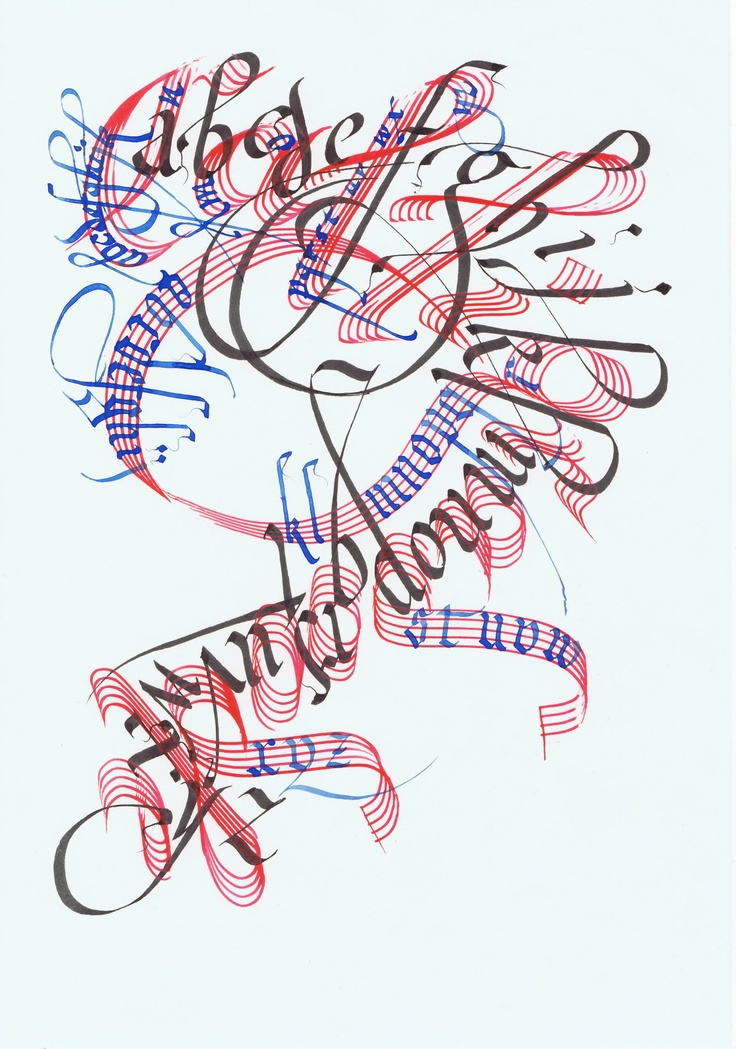 69 Best Images About Art Calligraphy On Pinterest Font