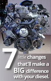 Warm it upDiesel engines clatter when they are cold. This is because diesel engines rely on the heat generated by compressing air in the cylinders in the engine for the diesel to ignite, with a cold b