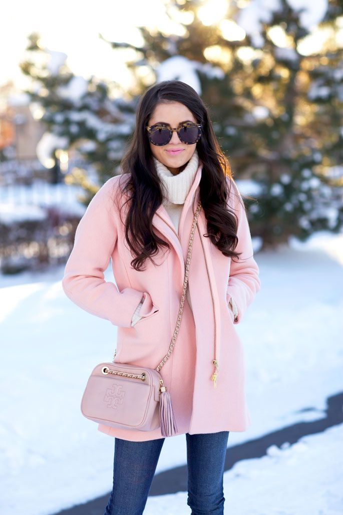 Best 25  Pink winter coat ideas on Pinterest | Pink coats, Winter ...