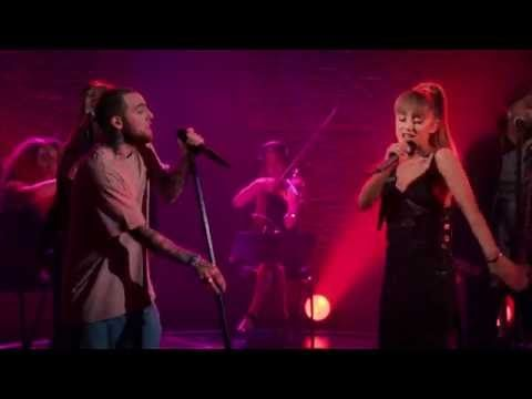 Mac Miller - My Favorite Part (feat. Ariana Grande) (Live) THEY ARE SO CUTE AND I LOVE THIS DAMN SONG AND IM SICK OF IT