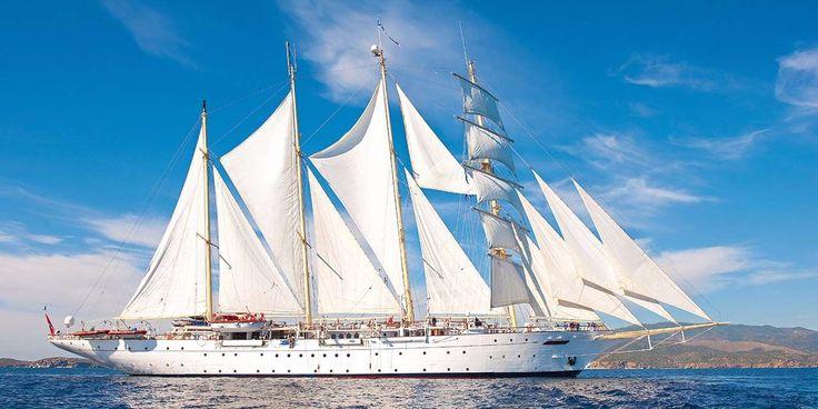 Architektur-Kreuzfahrt: Städtebau und Architektur mit dem Segelschiff entdecken
