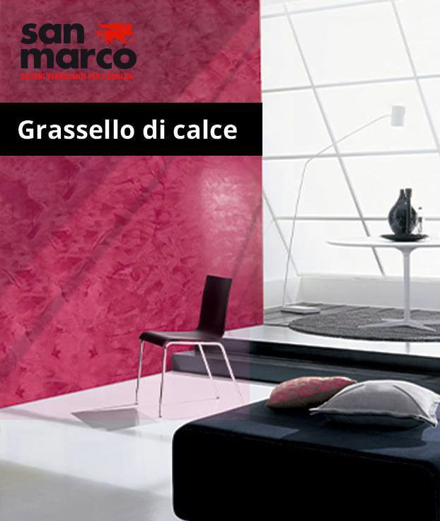 Classic period decoration for interiors. Age-old sensations manifested in timeless, refined, classic surroundings thanks to Grassello di Calce.