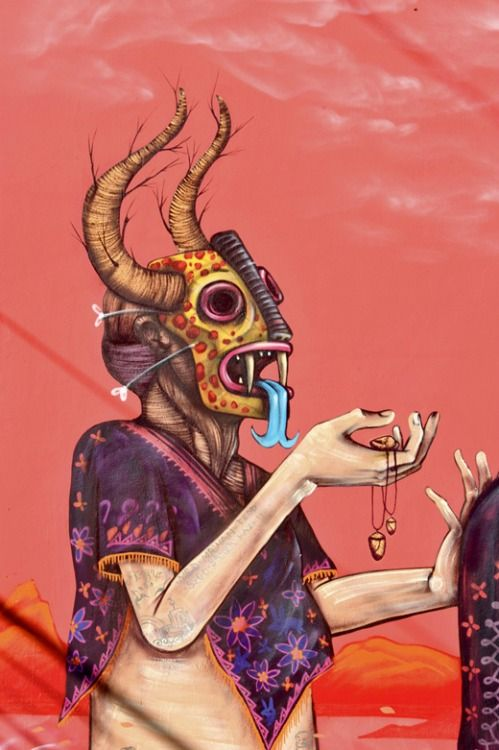crossconnectmag: Saner | saner.com.mx Mexican street artist Saner is awesome. His style has a...