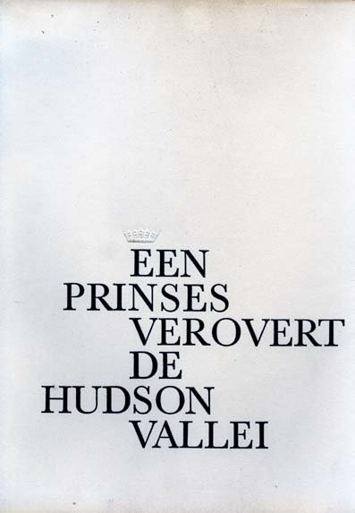 Een prinses verovert de Hudson vallei (A princess conquers the Hudson Valley) booklet, IBM, 1959