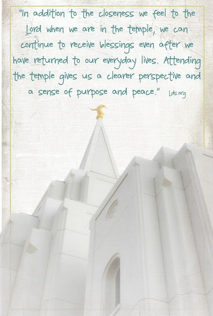 LDS temple quotes.  This one s the abrigham City Temple...HomeSweetHome