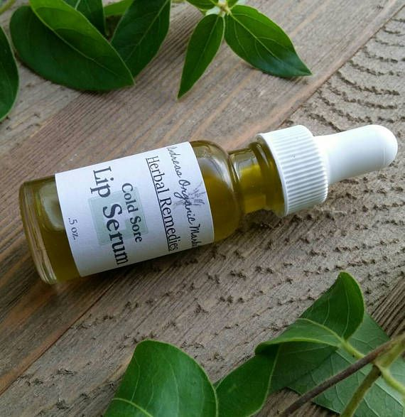 All-natural herbal remedy for cold sores. https://www.etsy.com/listing/540841707/organic-cold-sore-lip-serum-fever