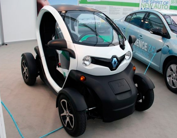 Beau Renault Twizy   2012 Is This The Car Of The Future?