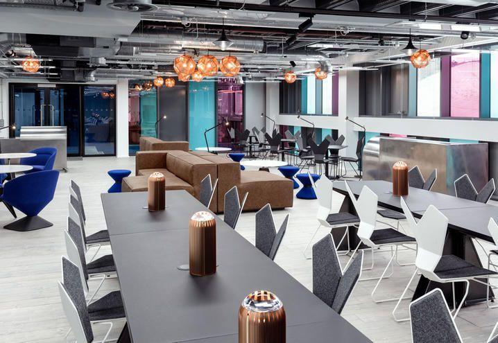 Cosa Significa Lavorare In Un Coworking A Londra Ufficio Interno
