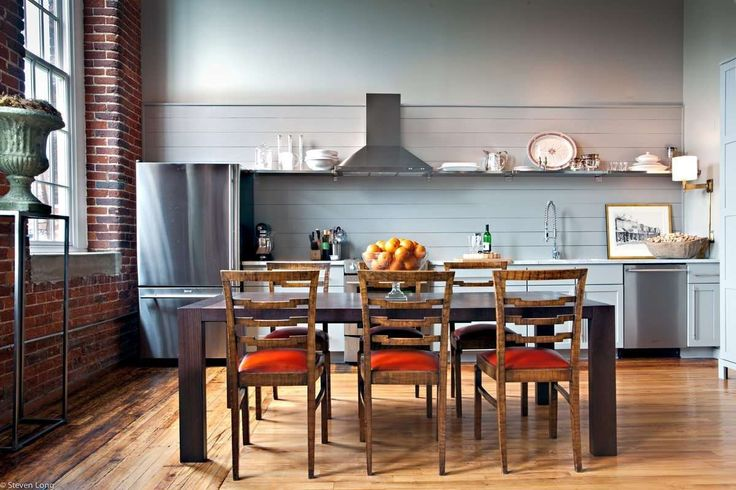 10 Lovely & Efficient One-Wall Kitchens